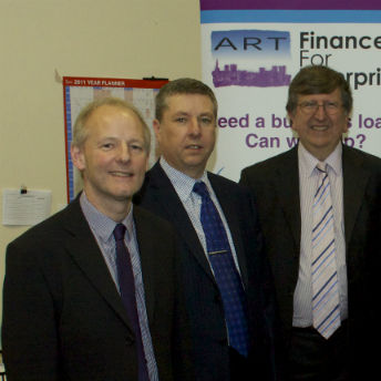 Need a business loan? Speak to the ART lending team - Andy King, Steve Walker or Martin Edmonds.