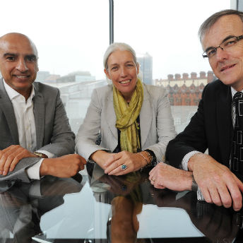 New ART Board Members Monder Ram, Beverley Nielsen and David Hardman