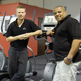Kirkwood Walker at FW Fitness. Photographer: Emma Walker.