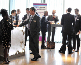 Insider Finance Breakfast Event, Radisson Blu Birmingham