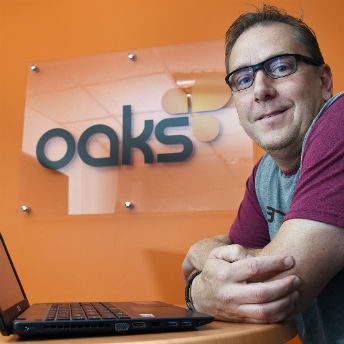 ART Business Loans client Mark Walker at Oaks Consultancy