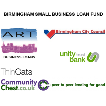 Birmingham Small Business Loan Fund - partners logos