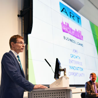 Andy Street speaking at ART AGM 2017