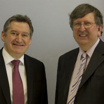 ART Chairman, Craig Errington, with ART Chief Executive, Steve Walker