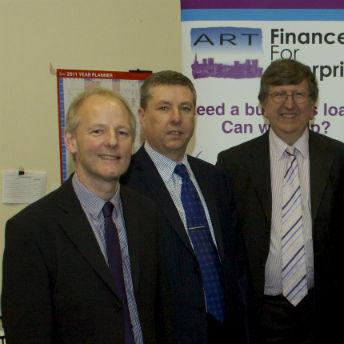 Need a business loan? Speak to the ART lending team - Andy King, Steve Walker or Martin Edmonds.