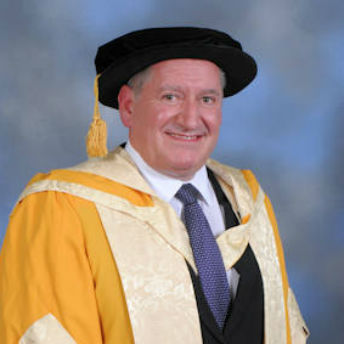 Craig Errington receives Honorary Doctorate from Birmingham City University