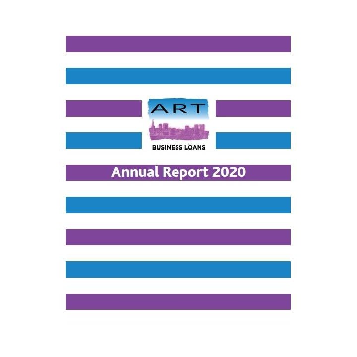 ART Business Loans Annual Report cover 2020